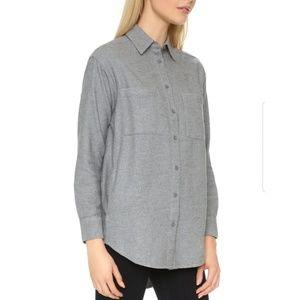⭕5/$25⭕Madewell Boyfriend Flannel Buttondown Shirt
